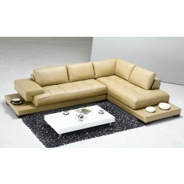 Tosh Furniture Leather Sectional Sofa Beige - Modern Living Room Furniture  sc 1 st  Pinterest : tosh furniture leather sectional sofa - Sectionals, Sofas & Couches