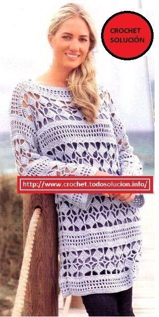 crochet tunica