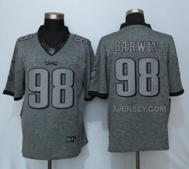 philadelphia eagles nike mens nfl jersey 98 connor barwin limited midnight green player name httpxjerseynike eagles 98 connor barwin gray