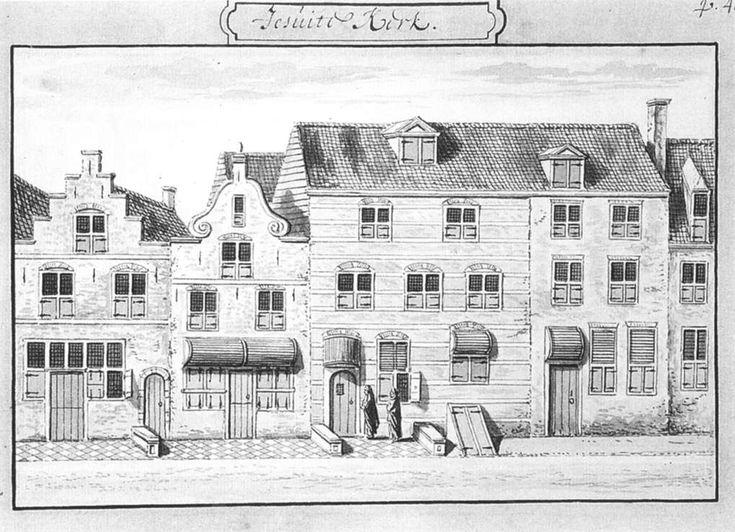 Abraham Rademaker - The Jesuit Church on the Oude Langendijk in Delft - WGA18594 - Johannes Vermeer - Wikipedia, the free encyclopedia