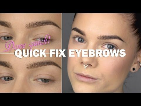 Videotutorial- quick fix eyebrow