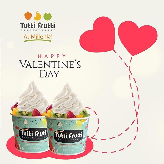 Happy Valetine's Day!  Love on the air... #TFFan #frozenyogurt #froyo #tuttifruttimillenia #thebestfroyo #tfmilleniathebestfroyo #tfbestcombination #fruity #dessertporn #desserts #yogurt #yogurtland #toppings #enfoodgallery #softcream #icecream #dolciitaliani #yogurhelado #frozen #yummy #delicious #cool #food #fitnesslife #healthylifestyle #motovation