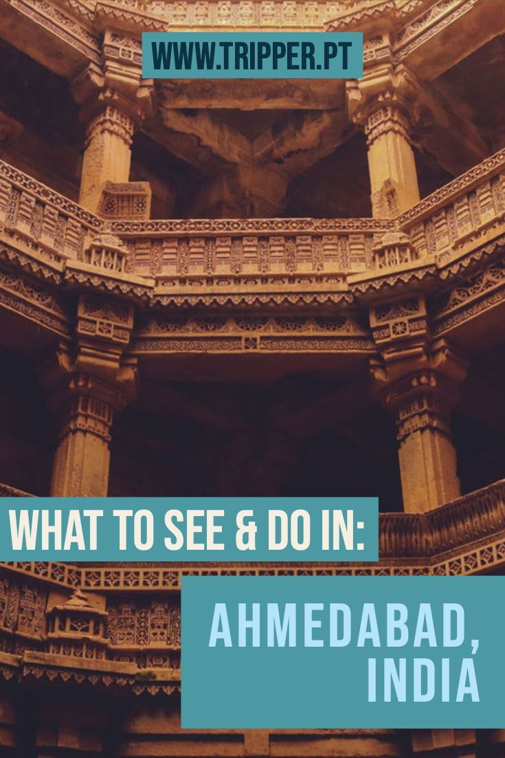 Some of the top places to visit in Ahmedabad, what & where to eat, locals' favorite street foods and more. Explore India's first UNESCO World Heritage City. #Ahmedabad #India