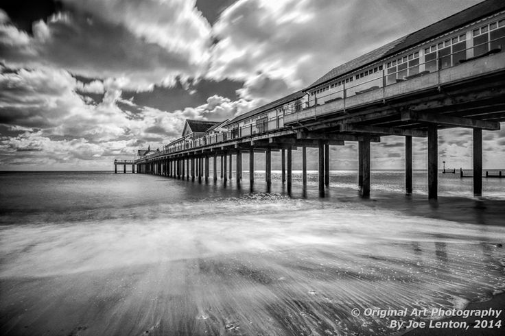 Gold award - my image of Southwold Pier won Gold in the Monochrome section of the Societies April 2014 competition