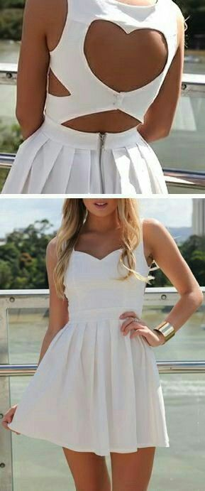 Cute Homecoming Dress,Keyhole Homecoming Dress,Unique Homecoming Dress,White Homecoming Dress,Short Homecoming Dress,Short Party Dress,Simple Homecoming Dress,Cheap Homecoming Dress