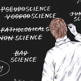 What is pseudoscience?  A very important word with a very unclear definition.