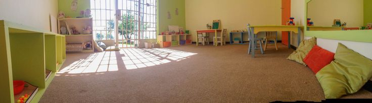 A panorama of our toddler environment