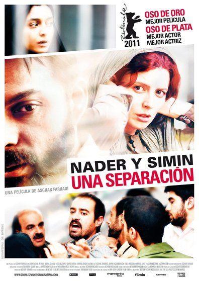Nader (Peyman Moaadi) y Simin (Leila Hatami) son un matrimonio iraní con una hija. Simin quiere abandonar Irán en busca de una vida mejor, pero Nader, que desea quedarse para cuidar a su padre, que tiene Alzheimer, le pide el divorcio. Como no lo consigue, se muda a vivir con sus padres y contrata a una mujer para que le ayude a cuidar a su padre.