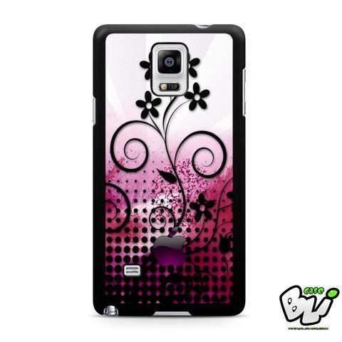 Abstrak Art Flowers Samsung Galaxy Note 4 Case