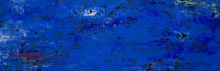 Warmth. Acrylic on Panel.8×24