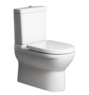 Villeroy & Boch O.Novo Back to wall toilet suite soft close seat