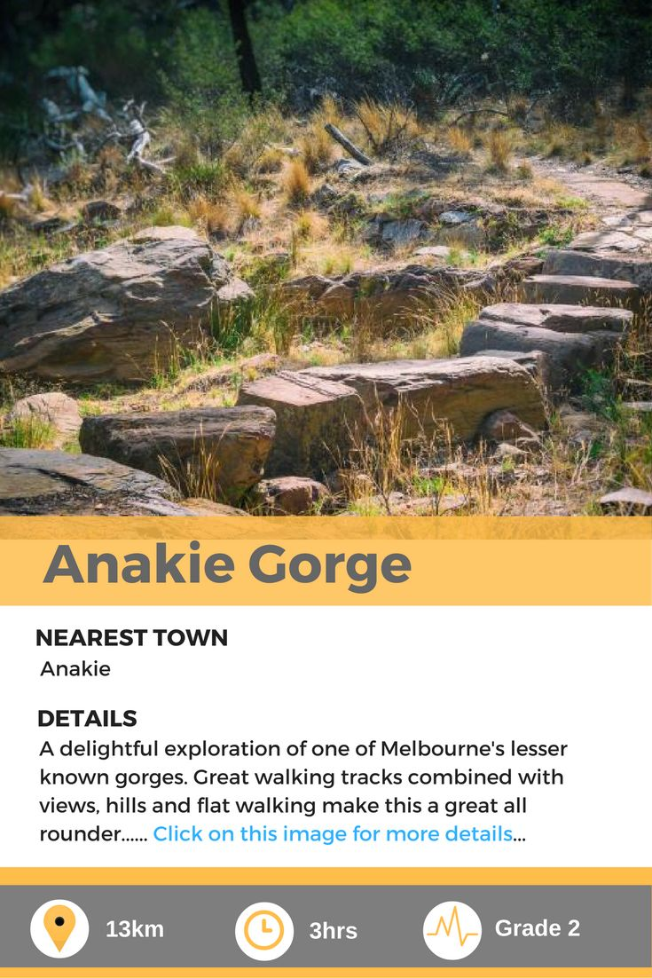 Anakie Gorge, a delightful day hike in Melbourne, AU.