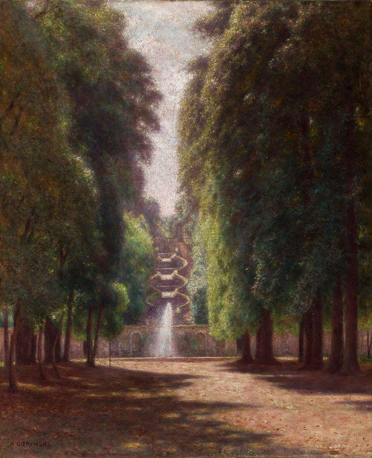 Aleksander Gierymski, Villa Torlonia we Frascati, między 1895 a 1897, własność: MNK