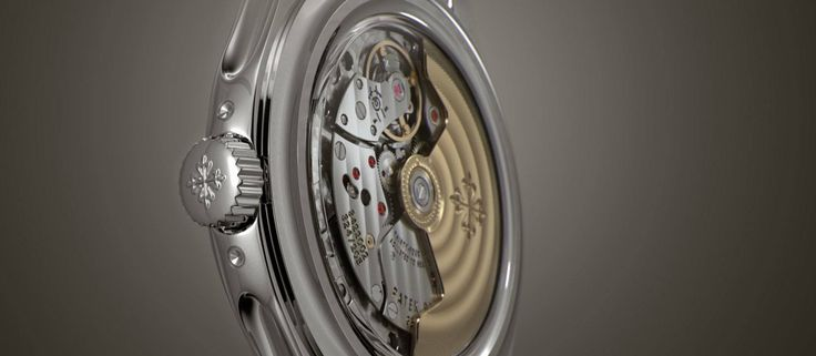 A clever animation in CGi, to help illustrate the sophisticated detail and movement, often referred to as 'complications' in the world of luxury watches.