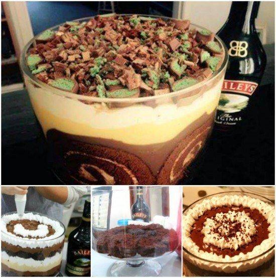 Deb's Baileys Trifle   Community Post: 12 OMG Christmas Treats!