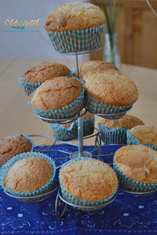 Kókuszos muffin villámgyorsan, egy tojással, olaj-, margarin- és vajmentesen | Életszépítők