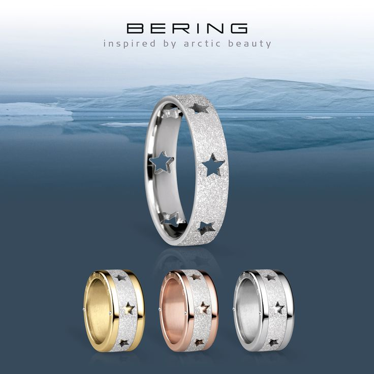 Twinkle twinkle little star; BERING jewellery; Arctic Symphony Collection, Twist & Change System