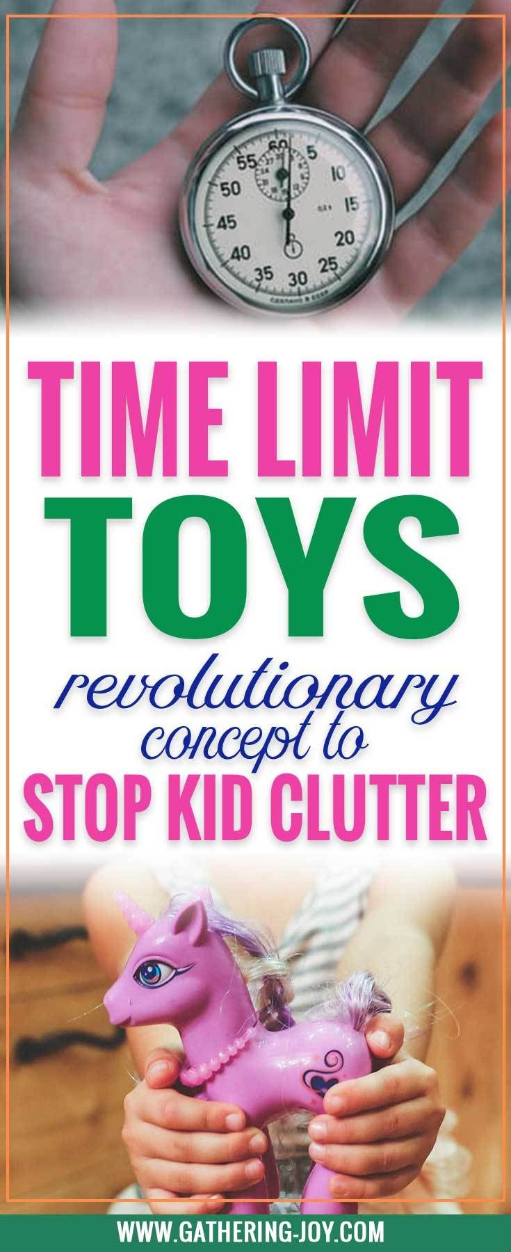 """One of those """"Why didn't I think of that?"""" Ideas! Having a rule like this will keep your kids from collecting clutter! 