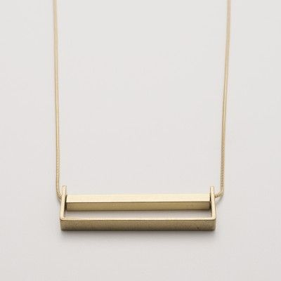 Basic Brass Necklace | Jewelry - Schoolhouse Electric!