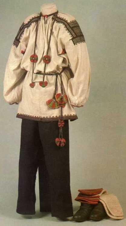 Russia ,male costume,1900s