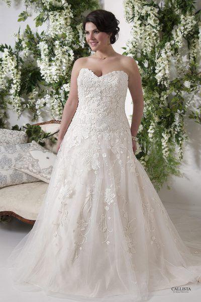 Greece | Callista Plus Size Wedding Dresses: A-Linie & Empire Silhouettes I   Plus Size Brautmode & XXL Brautkleider in Übergröße bei Vollkommen.Braut. - The Curvy Bridal Concept Store Hamburg