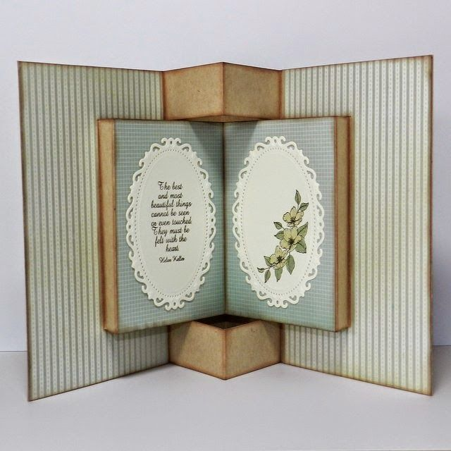 Marvelous Books On Card Making Part - 4: TUTORIAL - Pop-Up Book Card