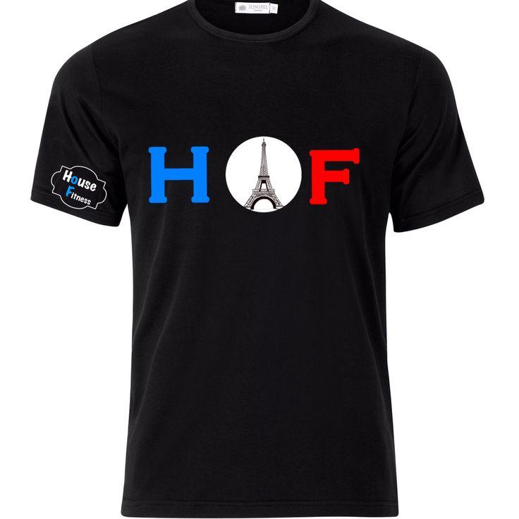 Our viva la France gymwear tshirt   Visit www.houseoffitness.ie for more info.