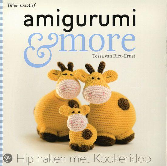 Amigurumi Monsters Tessa Van Riet : 63 best images about Crochet Favorite books on Pinterest ...
