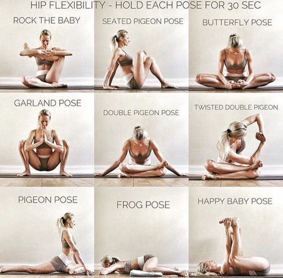 Yoga Poses & Workout : Better make this a routine …