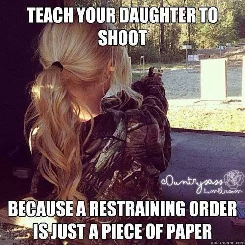 And because shooting is just fun. And women should be educated in this area.