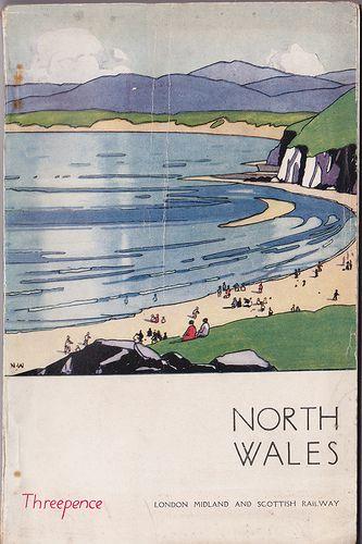 London Midland & Scottish Railway - North Wales holiday guide , 1926