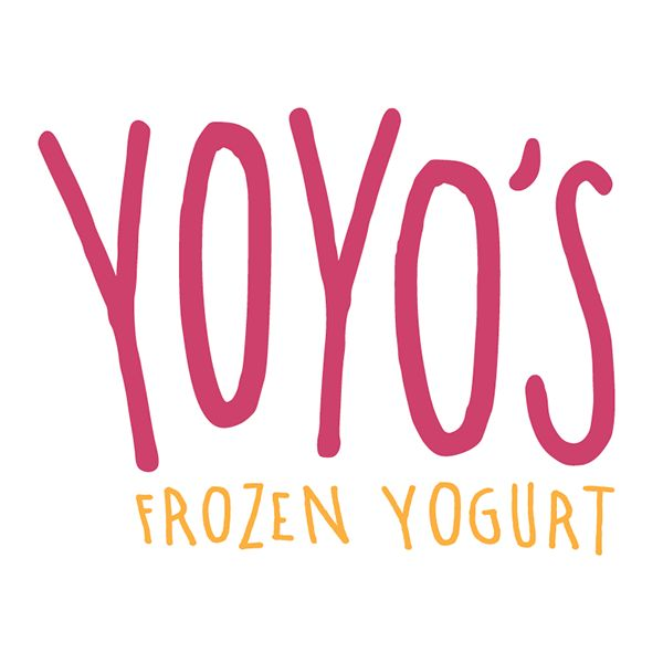 Identity rebrand for YoYo's Frozen Yogurt, a Texas Frozen Yogurt franchise. The logo consists of hand drawn typography and the accompanying hand drawn pattern visible on multiple platforms of the brand reflects a fun, light-hearted mood. Pieces include Fr…