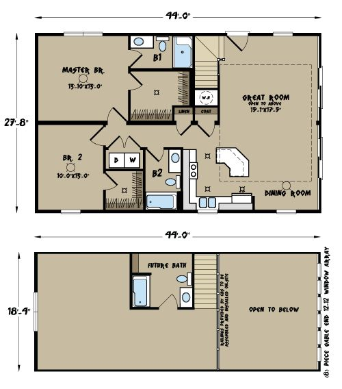 North Carolina Modular Home Floor Plans Sierra Ii Cape