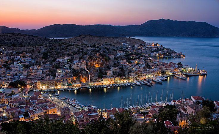 Symi island, Greece - Φωτογραφία από τη Σύμη