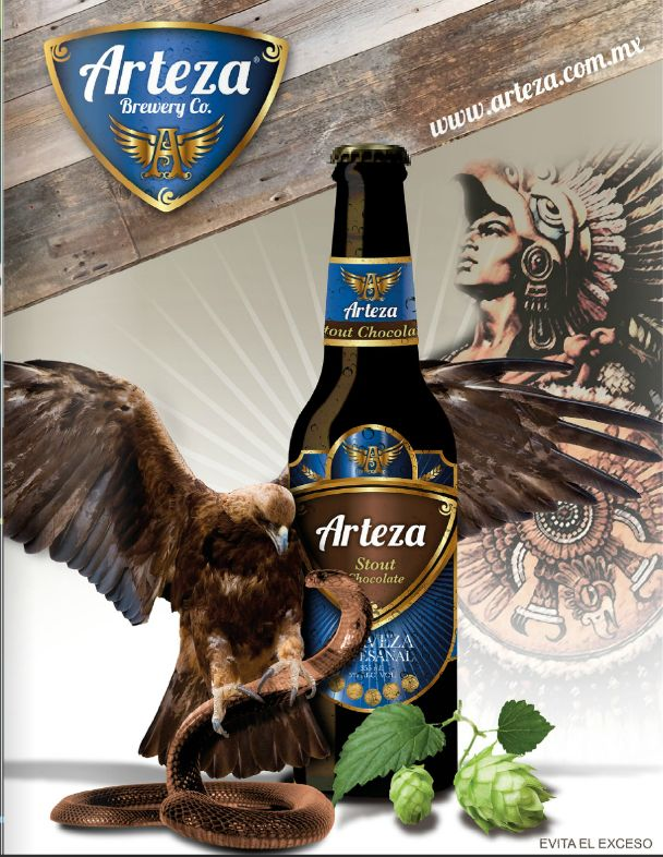 Cerveza Artesanal Mexicana Arteza Brewery Co. Stout Chocolate