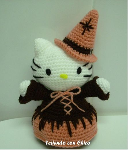 Hello Kitty Amigurumi Tejiendo Con Chico : 17 Best images about Toys chat-chien on Pinterest Cat ...