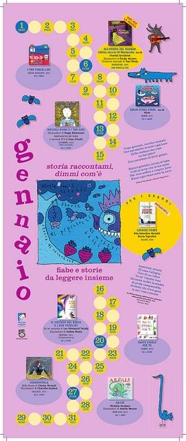 Calendario Nati per Leggere e Nati per Musica in Sardegna 2013: GENNAIO