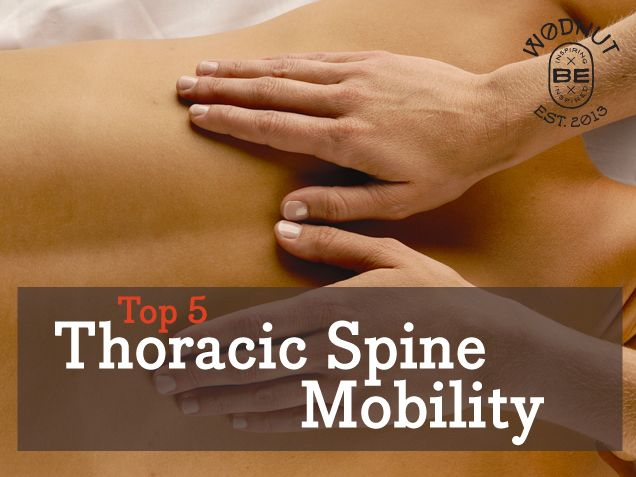 Top 5 Thoracic Spine Mobility | Wodnut