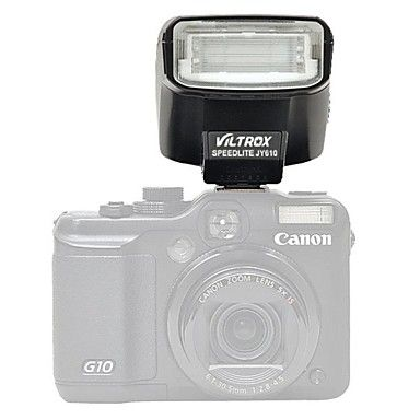 viltrox jy-610 SLR-kamera blixt för Canon Nikon Sony a7 a7r mikro-kamera blixt – SEK Kr. 393