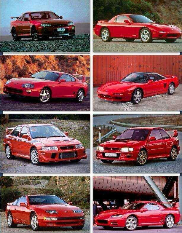 90s Japanese Cars Are The Best Japanese Cars One Pic Japanese