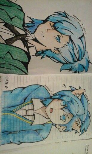 Mikaze ai.... my paint for aoi shouta