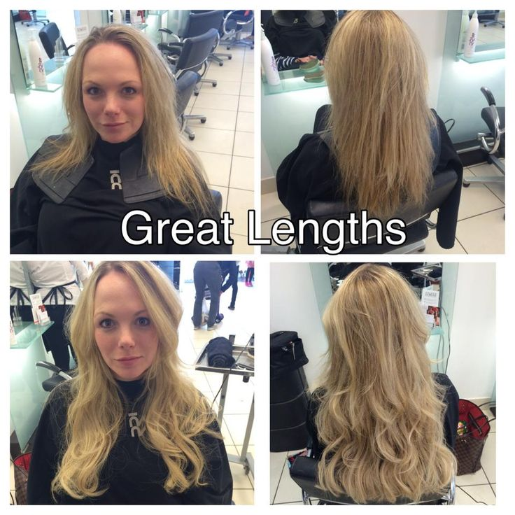 Great Lengths added hair for glamorous fullness, beautiful lengths and healthy colour enhancement. Hair created by RRI Clarkston Director Louise