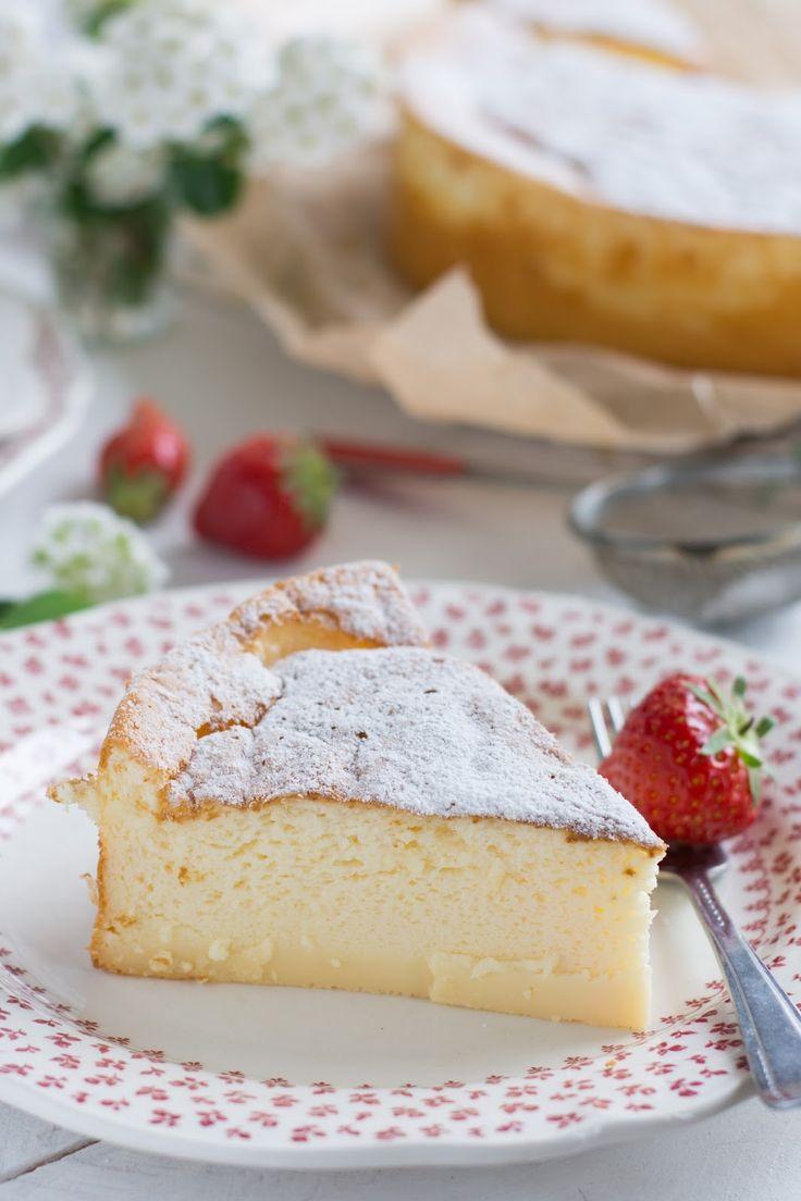 Cheesecake soufflé (avec seulement 3 ingrédients)