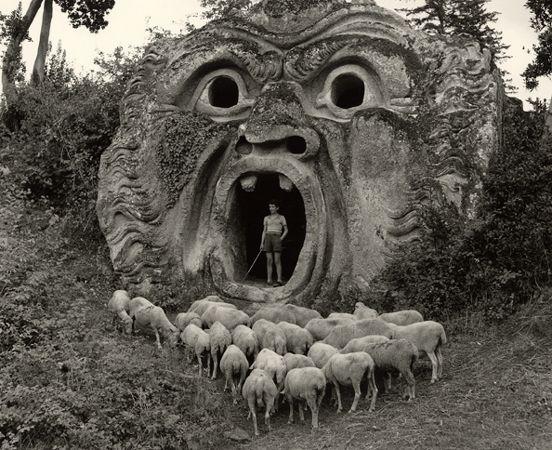 Herbert List | Bomarzo: Grove of Monsters (Italy).