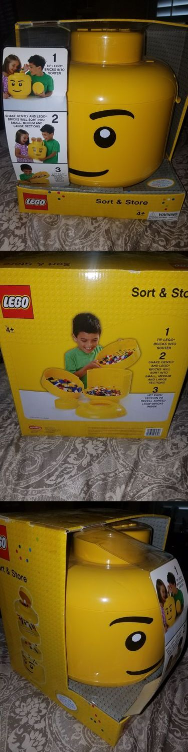 LEGO Branded Storage 183450: New Lego Sort And Store Container -> BUY IT NOW ONLY: $49.5 on eBay!