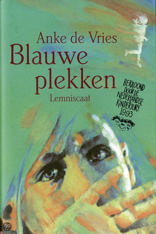 Dutch writer. You can search the book in English: The book is called Bruises in English, and is written by Anke de Vries.