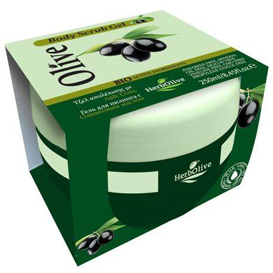 BODY SCRUB GEL OLIVE OIL  (Herbolive)