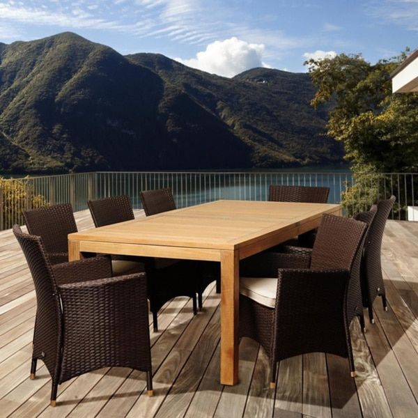 1000 Ideas About Outdoor Dining Set On Pinterest