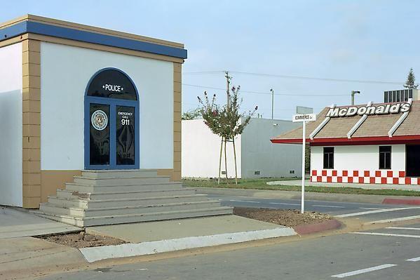 Safetyville, 1994-95. Police station, Toys-R-Us, McDonalds