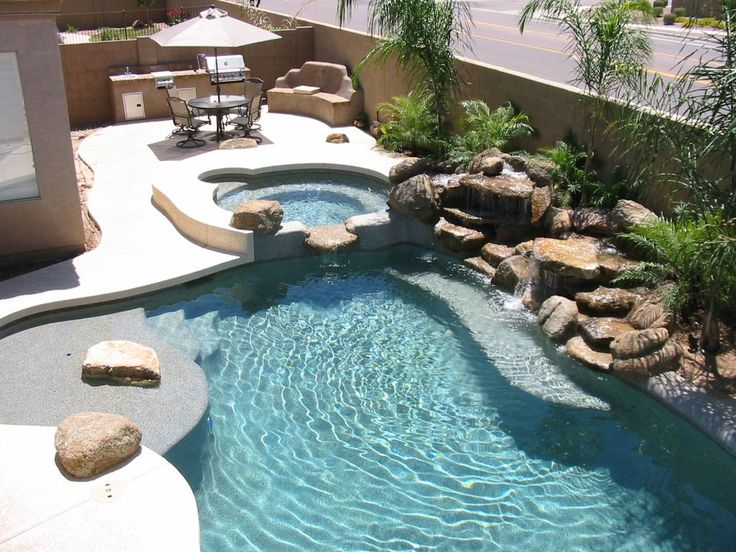 The Biggest Backyard Pool Ever : Backyard pools, Landscaping and Pools on Pinterest